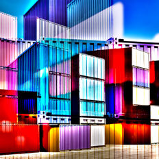Thomas Bijen - Cargo Blocks | Limited Edition Fine Art