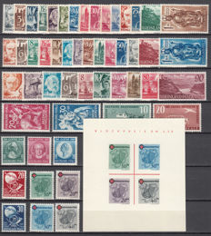 French Zone / Rhineland Palatinate - 1947-1949 - Collection of stamps and sheets