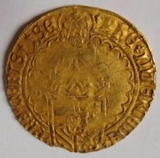County of Holland - Philippus guilder without year mark Philip the Fair (1482-1506) - gold
