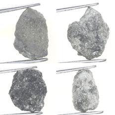 Nice Collection of Rare Rough African Carbonado Loose Diamond - 11.94 (4)