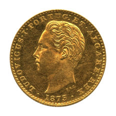 Portugal Monarchy – D. Luis I – 2.000 Réis 1875 – Gold