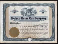 USA (Pennsylvania) - Kelsey Motor Car Company - 19__