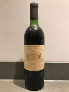 1973 Chateau Margaux Premier Grand Cru Classé - 1 bottle (73cl)