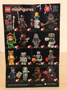 Collectible Minifigures Series 14 Monsters