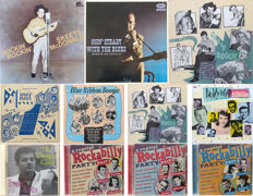 Capitol Rock & Roll, Rocakbilly and Hillbilly on 7 LP's and 4 CD's
