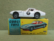 Corgi Toys - Scale 1/43 - Marcos 1800 G.T with Volvo engine No.324