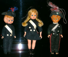 Lenci and Furga celluloid dolls