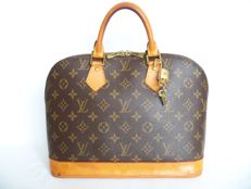 Louis Vuitton Alma + LV padlock (312) with2 keys -*No Reserve Price*