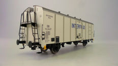 "Gauge 0 - Brawa - 37201 - Refrigerator carriage UIC standard 1 ""Interfrigo"" of the DB"