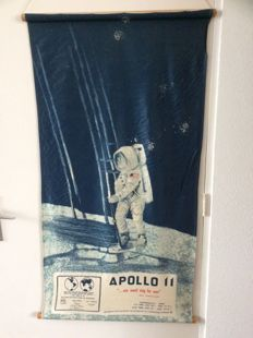 Keepsake of the Apollo 11 - Moon-landing - 1969