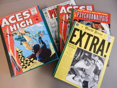 Extra! + Aces High + Piracy + Psychoanalysis - 4x HC In Presentation Box - (1988)