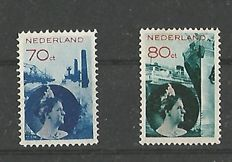 The Netherlands 1931/1933 - Wilhelmina Photo Montage - NVPH 236/237