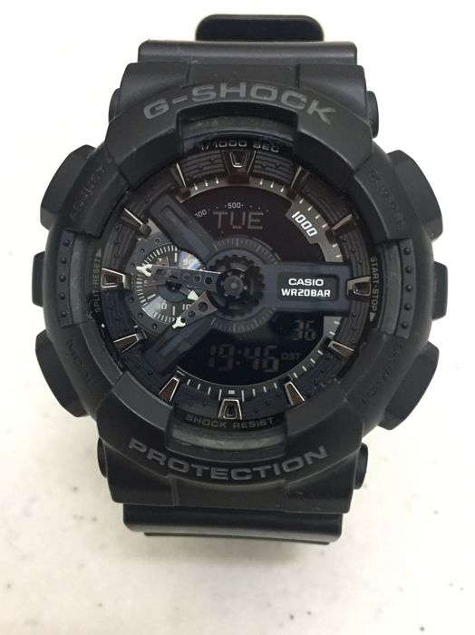 Casio - G-Shock - GA-110-1BER - Men - Catawiki 7f71cd774211