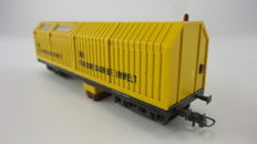 Lux H0 - 8811 - Rail cleaning wagon with vacuum cleaner and lighting of the DB