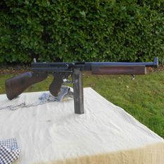 Authentic automatic machine pistol Thompson M1! A mythical weapon of the second world war