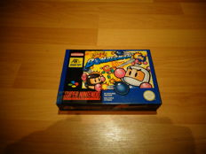 "Super Nintendo ""Super Bomberman"" In very good condition rare FAH Version"