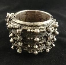 Antique bracelet in high-grade silver - Mauritania, early 20th century