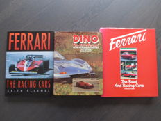 Books; Lot of 3 Ferrari Books - 1979/2000