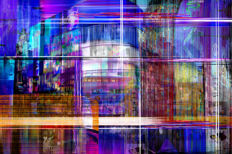 Jessica van Haselen - Piccadilly Paradox    Limited Edition Fine Art
