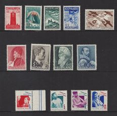 The Netherlands 1933/1935 - Children's stamps, Sailer stamps, Summer and aviation fund – NVPH 240/243, 257/260, 274/277, 278