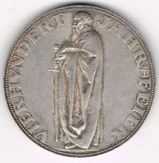 Germany, Weimar Republic - Silver Medal 1928 by K. Roth on 400th Anniversary of the Death of Albrecht Dürer (1471-1528)