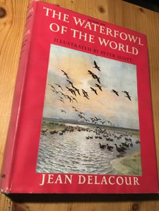 Jean Delacour & Sir Peter Scott - The Waterfowl of the World - 4 delen - 1960