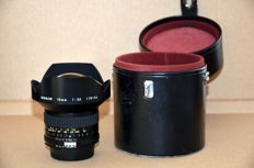 Nikkor 15 mm f3.5 fisheye lens