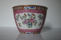 Samson - Porcelain, cache pot India Company