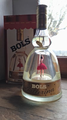 "Bols Ballerina brandy of Danzig ""Gold liqueur"" - France - Bottled 1970s/80s"