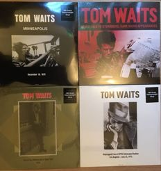 Tom Waits || Unplugged, Live Recordings & Radio Appearances || 5 × LP in total || 180g || Great collection!