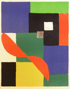 Sonia Delaunay - Helice Rouge