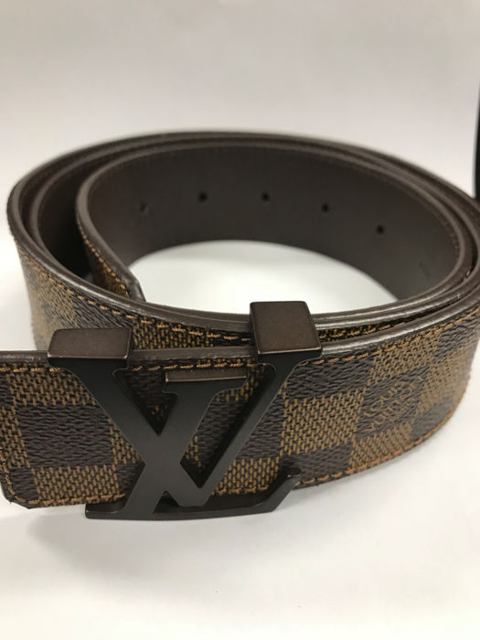 louis vuitton - men's belt - catawiki