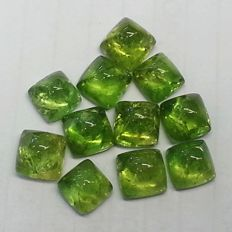 Excellent Lot of beautiful peridot - 27.01 ct (11)