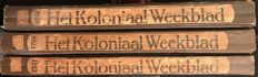 Colonial weekly magazine; Lot with 3 volumes - 1920-1922-1923