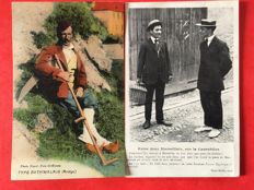 "France - selection of 53 postcards on the theme of ""folklore of France"" 1900 / 1925"