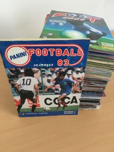 Panini - Football - 33 issues - Complete albums (or empty album with complete loose stickers)