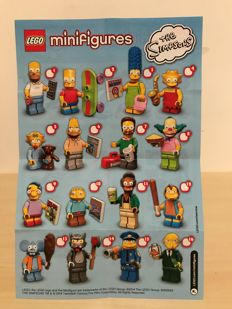 Collectible Minifigures The Simpsons