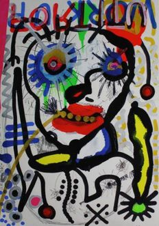 Paul Kostabi - Work up, Moser knows, Raggathean, One little Indian
