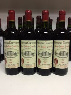 1990 Chateau Cantenac, Grand Cru Saint-Emilion , France - 4 bottles 0,75l