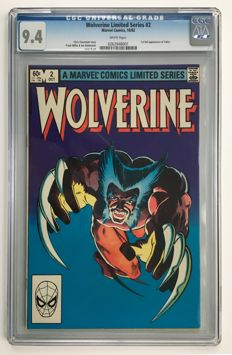Marvel Comics - Wolverine #2 from Frank Miller's Famous Limited Series - CGC Graded 9.4!!! - 1x sc - (1982)