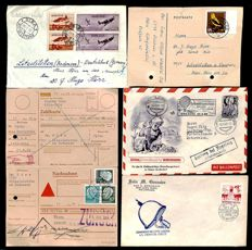 World - 1920-1970 - batch with more than 200 letters including many from Germany and South America