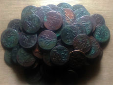 Netherlands East Indies, Zeeland - Duit 1732/1794 V.O.C (80 pieces) - Copper