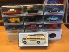 Dinky Toys-Matchbox - Scale 1/43 - Lot with 10 models: