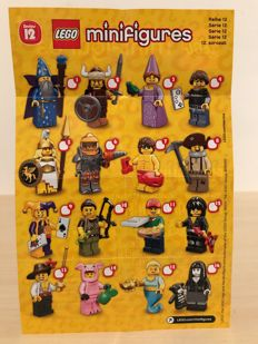 Collectible Minifigures Series 12