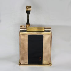 S.T Dupont lighter - Jeroboam collection, gold plated / black Chinese lacquer