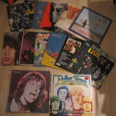 Rolling Stones : Collection of 14 LP Albums