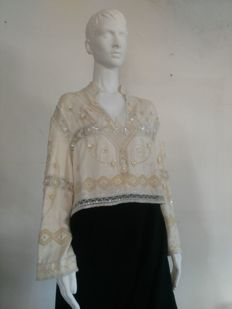 Valentino - Embroidered blouse