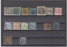Old Germany - small batch on stock cards