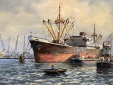 L. Scheen (1935) - Rotterdamse Haven