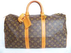 Louis Vuitton Keepall 45 + LV accessories + LV padlock (320) with 2 keys - *No Minimum Price*